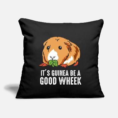 "Cavies Guinea Pig Pun Funny Pet Rodent Cavy - Throw Pillow Cover 18"" x 18"""