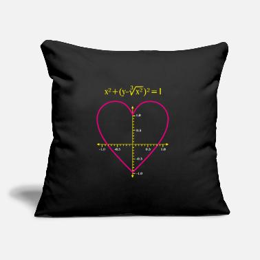 "Mathematics mathematics - Throw Pillow Cover 18"" x 18"""