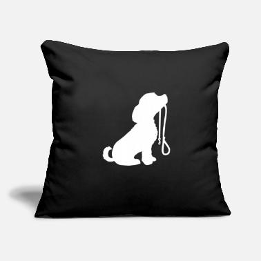 "Cute Dog Cute Dog - Throw Pillow Cover 18"" x 18"""