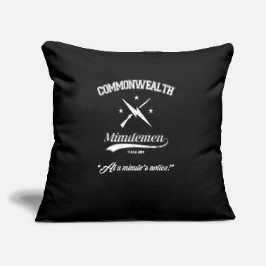 "Commonwealth Commonwealth Minutemen - Throw Pillow Cover 18"" x 18"""