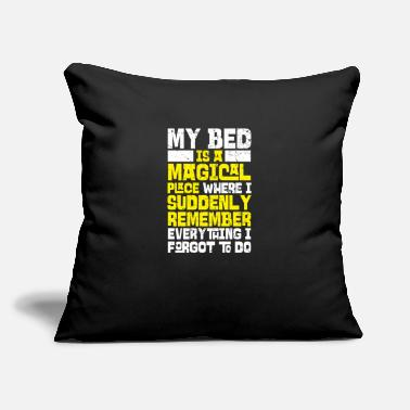 Bed My Bed - Throw Pillow Cover