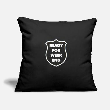 Weekend for Weekend - Throw Pillow Cover