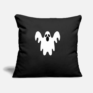 "Ghost Ghost - Throw Pillow Cover 18"" x 18"""