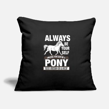 Pony Pony - Throw Pillow Cover