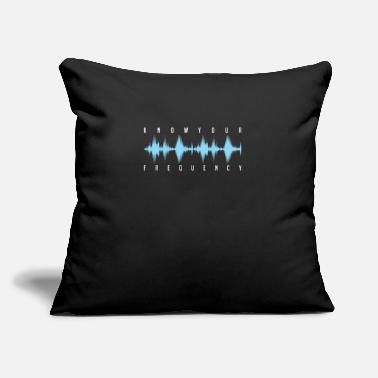 "Frequency Frequency - Throw Pillow Cover 18"" x 18"""