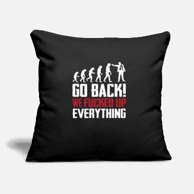 "Evolution Evolution - Throw Pillow Cover 18"" x 18"""