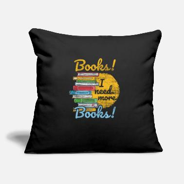 "Book - Throw Pillow Cover 18"" x 18"""