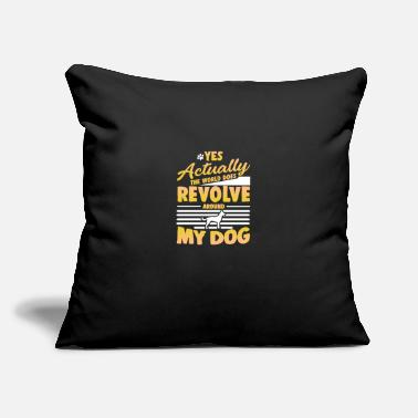 "Animal Dog - Throw Pillow Cover 18"" x 18"""