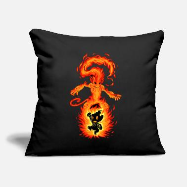 fire type - Throw Pillow Cover