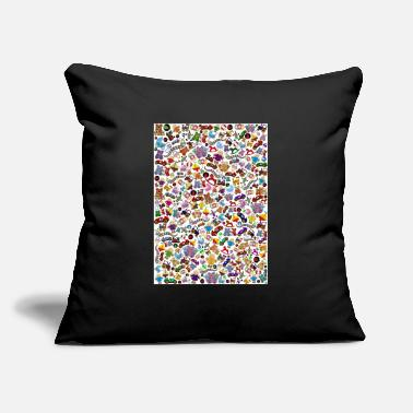 "toys background - Throw Pillow Cover 18"" x 18"""