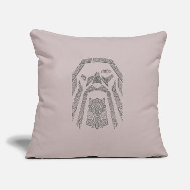 "Odin ODIN - Throw Pillow Cover 18"" x 18"""