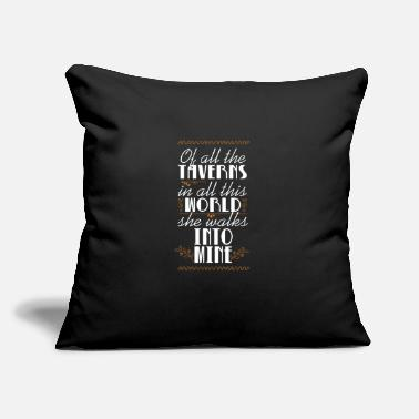 "Tavern Of All The Taverns - Throw Pillow Cover 18"" x 18"""