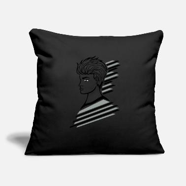 "Teenager teenage boy - Throw Pillow Cover 18"" x 18"""