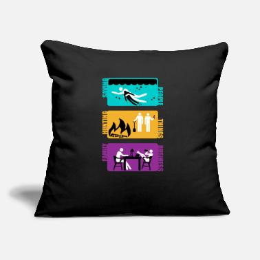 "Television Supernatural - Throw Pillow Cover 18"" x 18"""