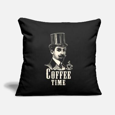 "Coffeeshop COFFEE, CAPPUCCINO, COFFEESHOP, T-SHIRT, GIFT - Throw Pillow Cover 18"" x 18"""
