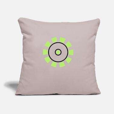 "Ecology Green Ecology - Throw Pillow Cover 18"" x 18"""