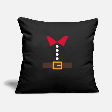 "Turkey Thanksgiving Christmas Costume Turkey Shirt Funny - Throw Pillow Cover 18"" x 18"""