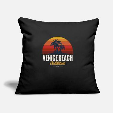 "Venice Beach VENICE BEACH CALIFORNIA - Throw Pillow Cover 18"" x 18"""