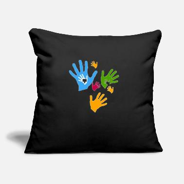 "Care Care child care community - Throw Pillow Cover 18"" x 18"""