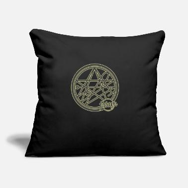 "H.P. Lovecraft: Necronomicom - Throw Pillow Cover 18"" x 18"""