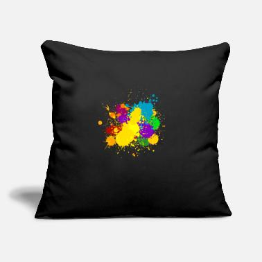 "Ink ink - Throw Pillow Cover 18"" x 18"""