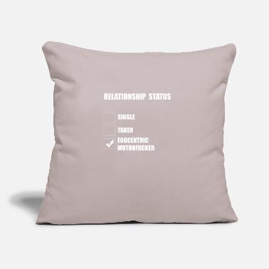 "Relationship relationship - Throw Pillow Cover 18"" x 18"""