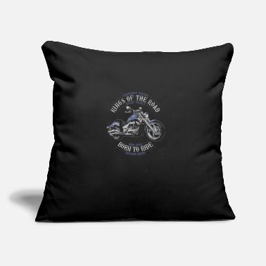 "Kings of the Road - Throw Pillow Cover 18"" x 18"""