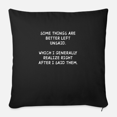 Some Things Better Left Unsaid Funny Quotes Gift Mug Spreadshirt