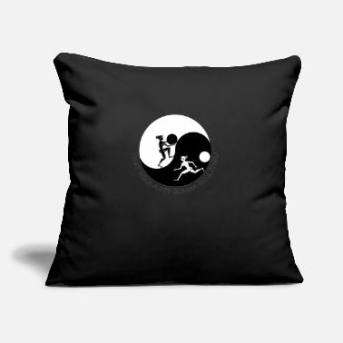 "Rock Face That rock - Throw Pillow Cover 18"" x 18"""