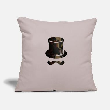 "Mister Mister - Throw Pillow Cover 18"" x 18"""