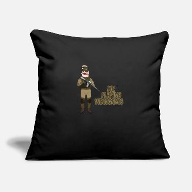 "Noob Videogame Noob Noob - Throw Pillow Cover 18"" x 18"""