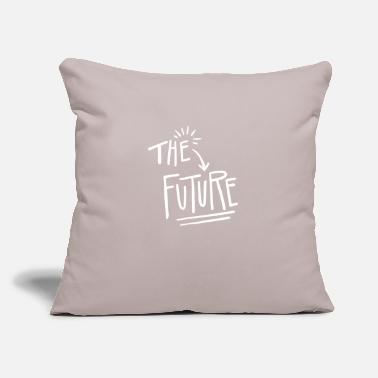 "Future The future - Throw Pillow Cover 18"" x 18"""