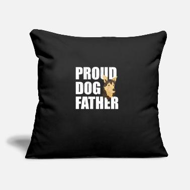 "Blatant Tee, Shirt dog, dogs, go-go, gift - Throw Pillow Cover 18"" x 18"""