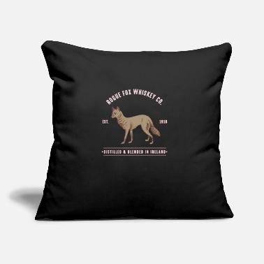 "fox mountains wild outdoors animals camping - Throw Pillow Cover 18"" x 18"""