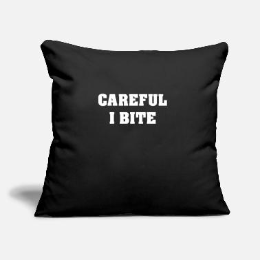 "Bite Bite - Throw Pillow Cover 18"" x 18"""