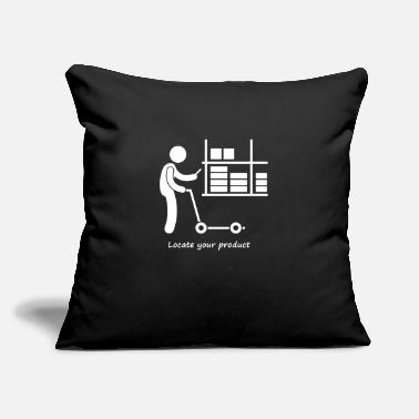 "Production Year Locate your product - Throw Pillow Cover 18"" x 18"""