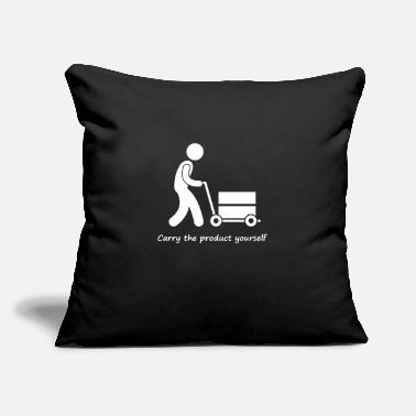 "Production Year Carry the product yourself - Throw Pillow Cover 18"" x 18"""