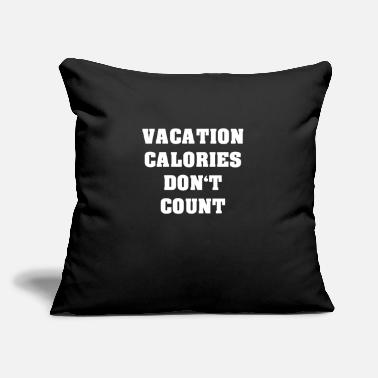 "Vacation Vacation - Throw Pillow Cover 18"" x 18"""