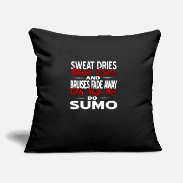 "Heavyweight Sumo - Throw Pillow Cover 18"" x 18"""