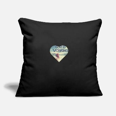 "God God - Throw Pillow Cover 18"" x 18"""