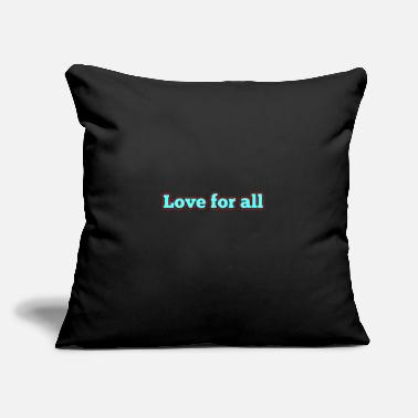 "Love - Throw Pillow Cover 18"" x 18"""