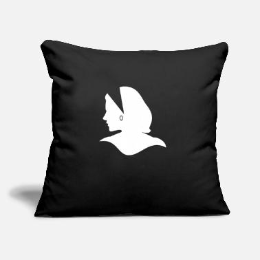 "Silhouette Silhouette - Throw Pillow Cover 18"" x 18"""