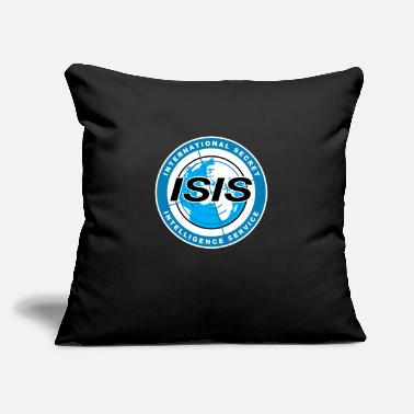 "ISIS - Throw Pillow Cover 18"" x 18"""