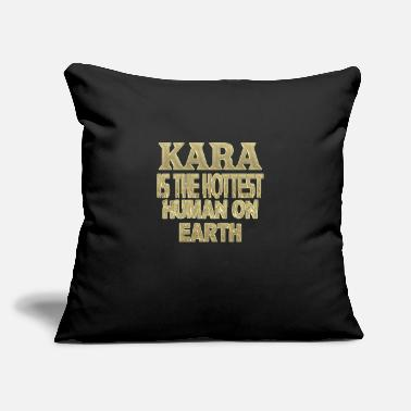 "Kara Kara - Throw Pillow Cover 18"" x 18"""