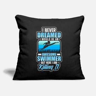 "Water Sports water Sport Water sports - Throw Pillow Cover 18"" x 18"""
