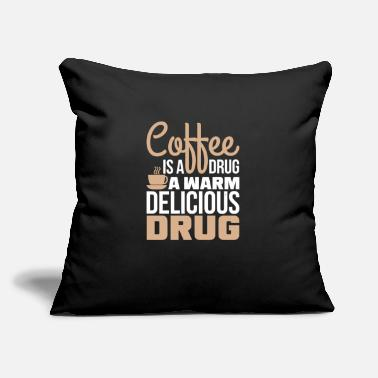 "Coffee Coffee Coffee Morning people Mornings - Throw Pillow Cover 18"" x 18"""