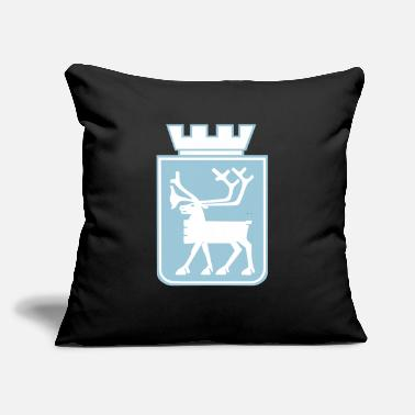 "Norway Coat Of Arms Coat of Arms of Tromso. - Throw Pillow Cover 18"" x 18"""