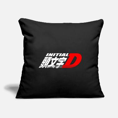 "Initial-d Initial D - Throw Pillow Cover 18"" x 18"""