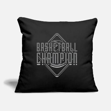 "Sport Fishermen Basketball Champion - Throw Pillow Cover 18"" x 18"""