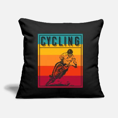 "Trending Cycling Bike - Throw Pillow Cover 18"" x 18"""